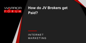 JV Partners - JV Brokers Getting Paid